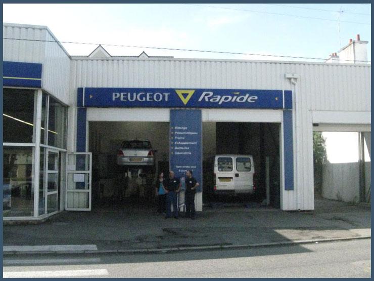Automobiles chaigneau agent peugeot r paration et vente automobiles lorient 56 accueil - Magasin chaussure lorient ...
