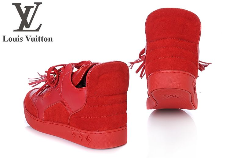 basket louis vuitton homme rouge 783b38a9bb5