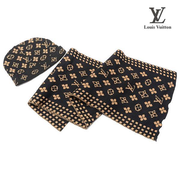 Bonnet Louis Vuitton Marron