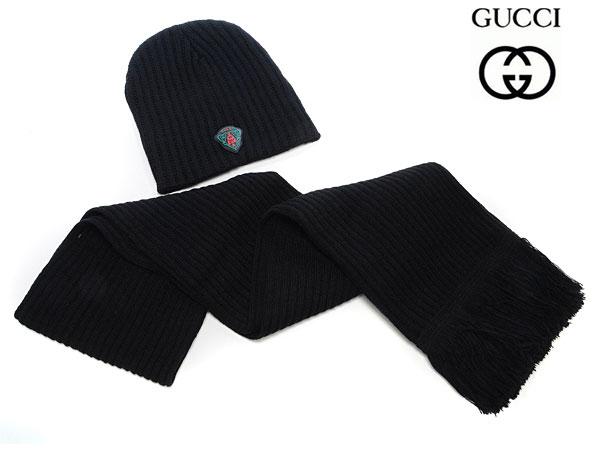 Achat Bonnet Gucci Noir