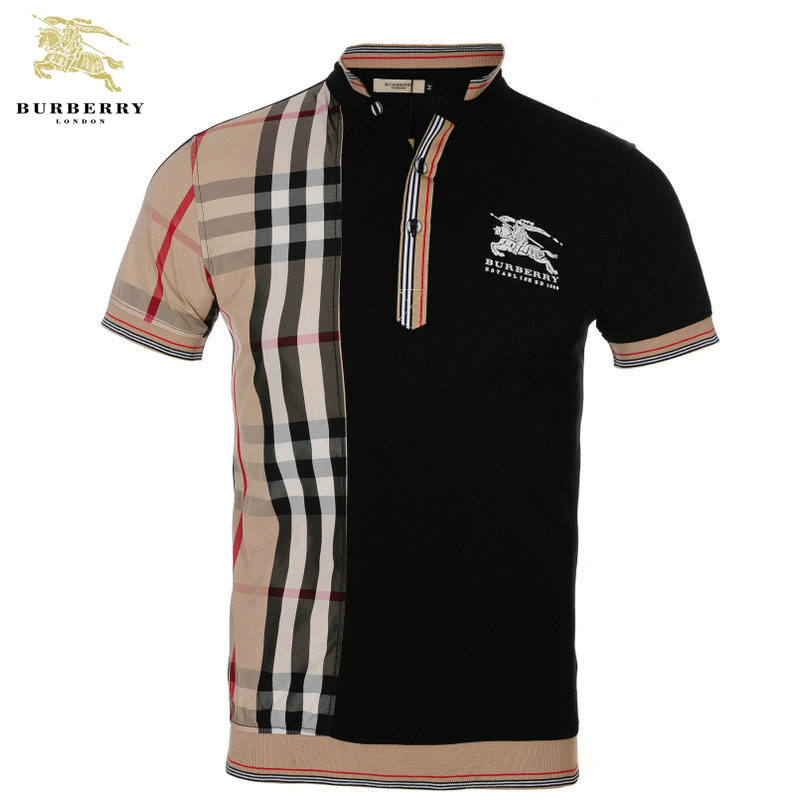 2012 t shirts burberry manches courtes homme pas cher id 10116 for Where are burberry shirts made