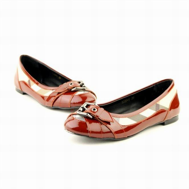 Burberry Cher Cher Ballerine chaussure Pas Femme y08wvNmnO